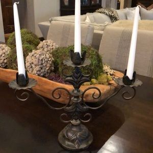Large iron Candelabra